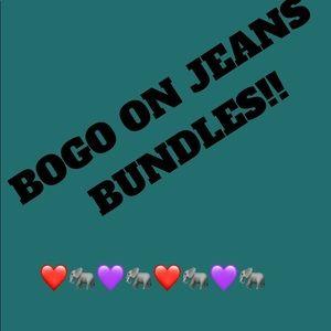 Denim - BOGO buy one get one on all jeans!